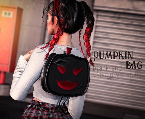 Pumpkin bag ad pic
