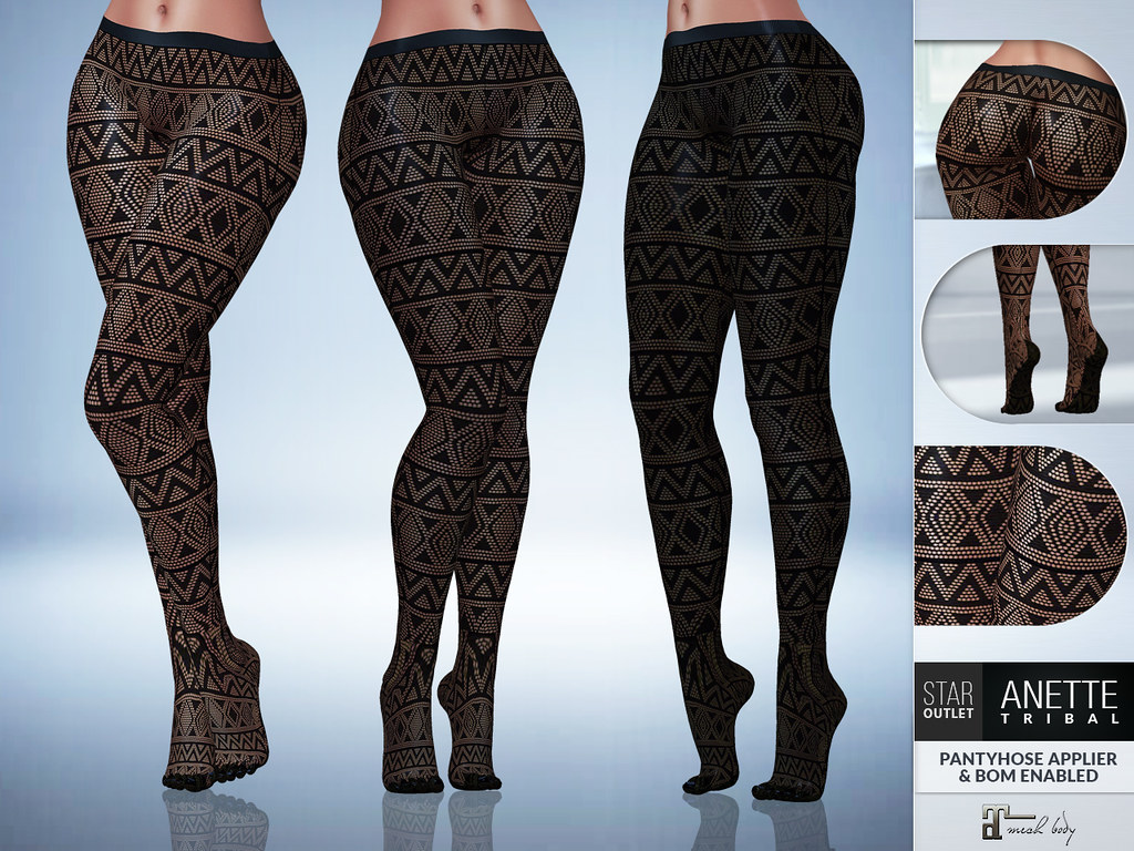 Star Outlet Pantyhose Anette Tribal – Maitreya Applier BOM