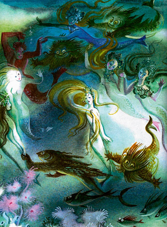 Nika Goltz - The Little Mermaid, Illustration 02