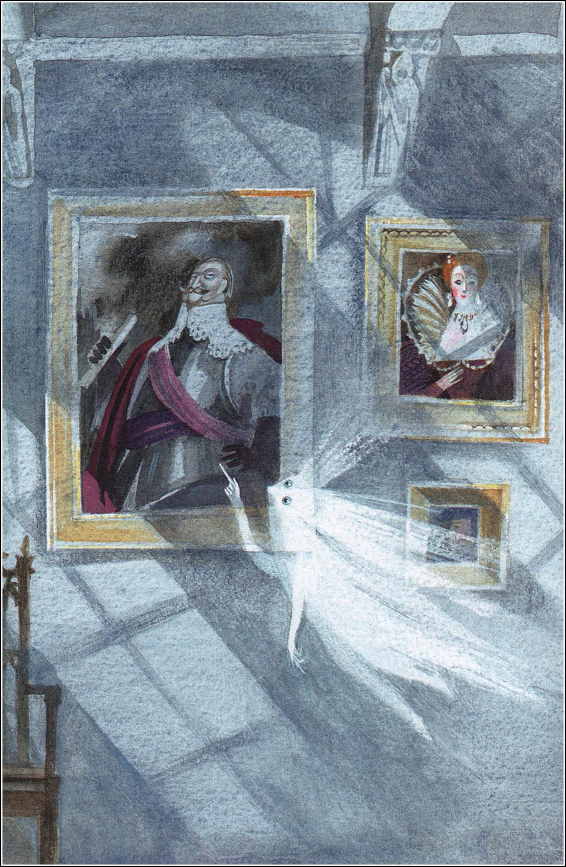Nika Goltz - The Little Ghost, Illustration 02