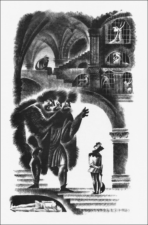 Nika Goltz - English Folk Tales, Illustration 01