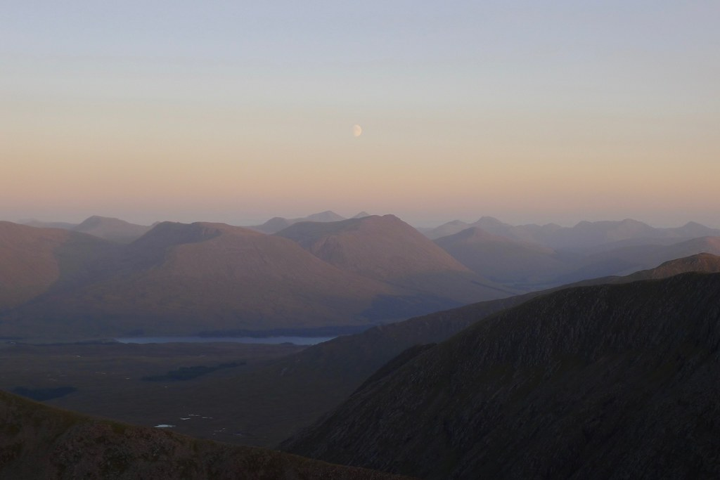 Moonrise over Beinn Dorain