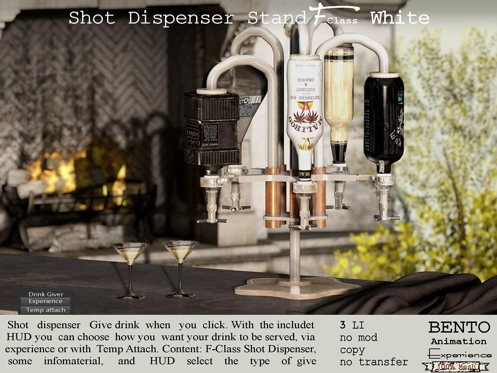 F-Class Shot Dispenser stand
