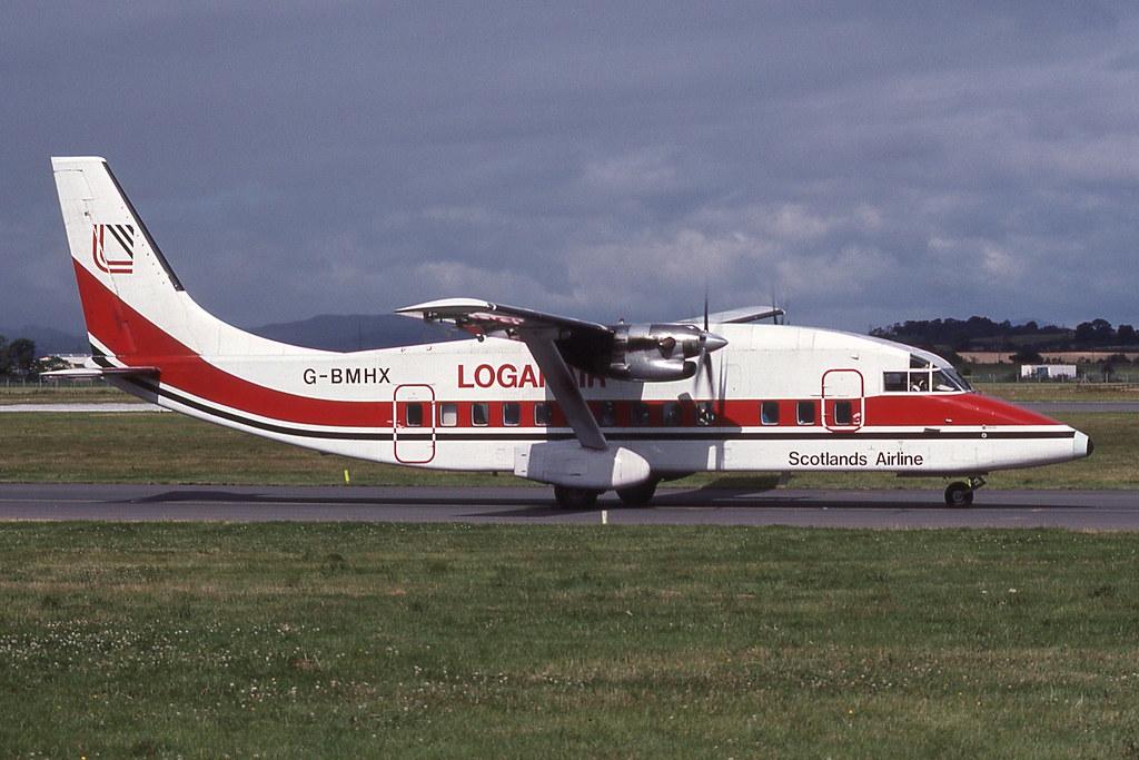 G-BMHX Glasgow 5-8-1990