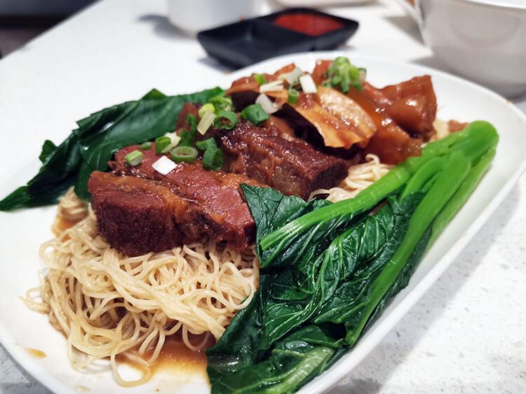 Hong Kong Braised Beef Noodle