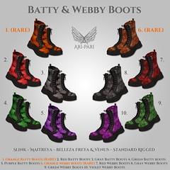 [Ari-Pari] Batty & Webby Boots Gacha