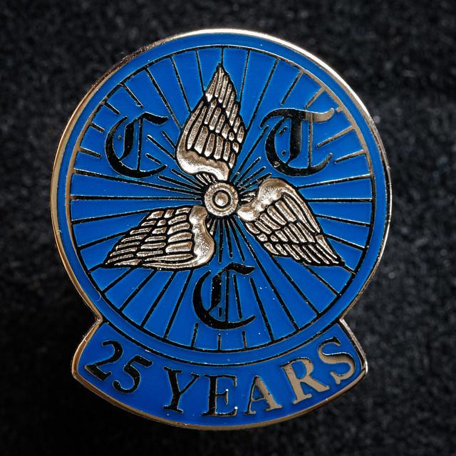 CTC 25-Year Membership Badge