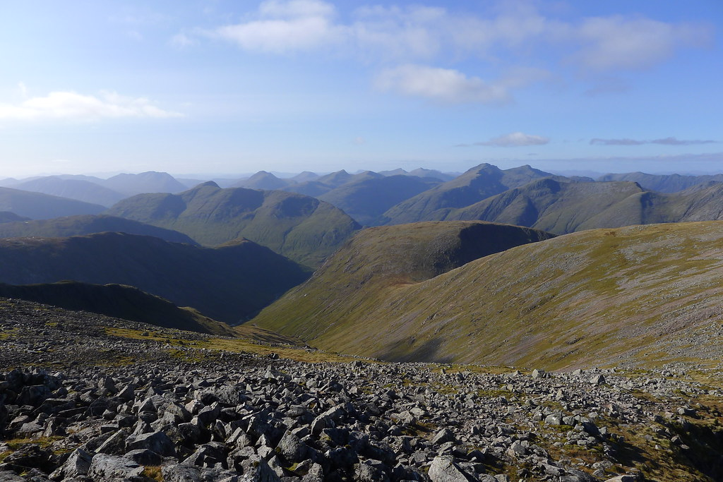 Across Etive from Clach Leathad