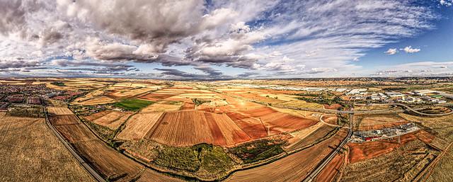 180 panoramic fields