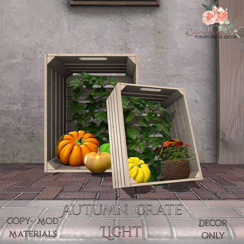Bloom! – Autumn Crates LightAD