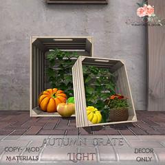 Bloom! - Autumn Crates LightAD