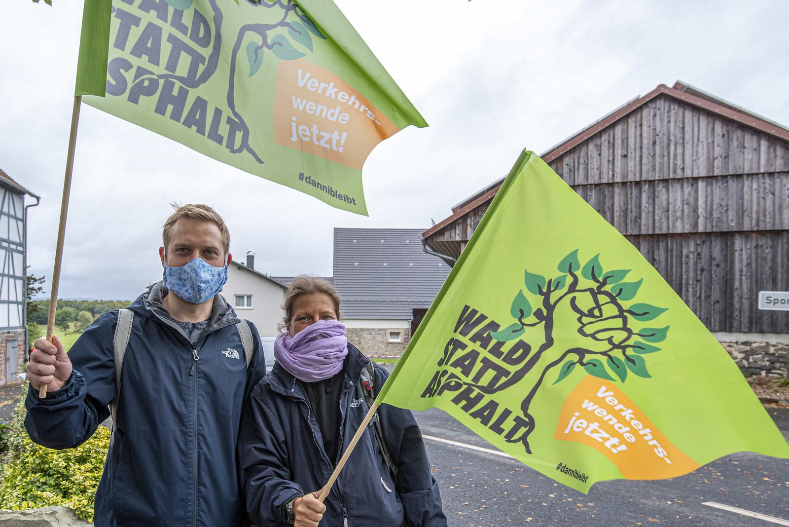 Demo / Dannenröder Wald / 2020-10-04