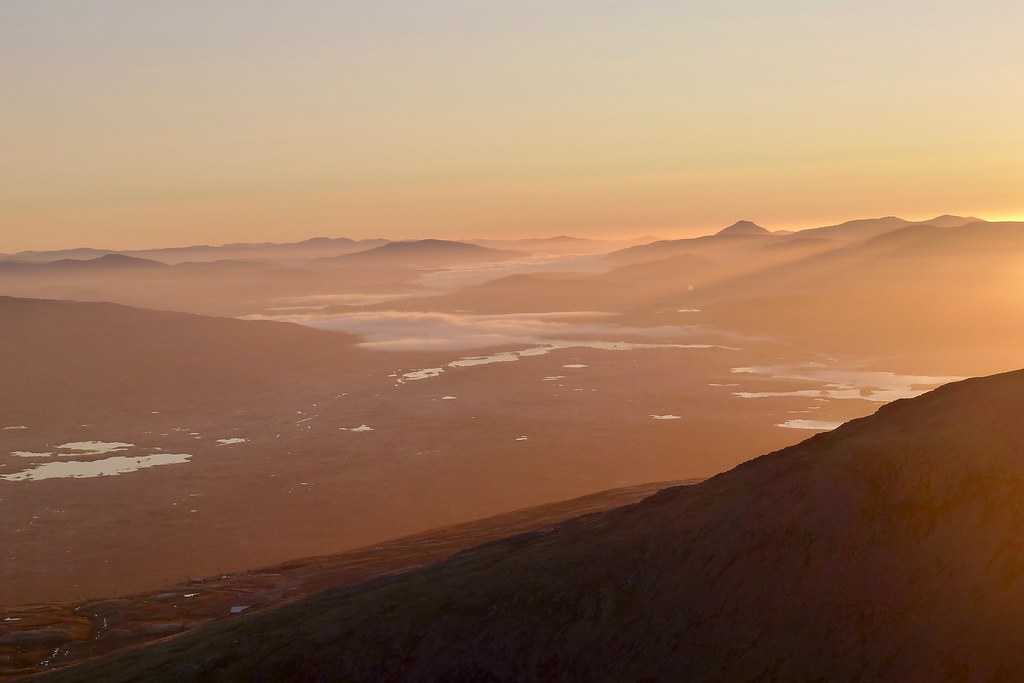 Dawn over Rannoch Moor
