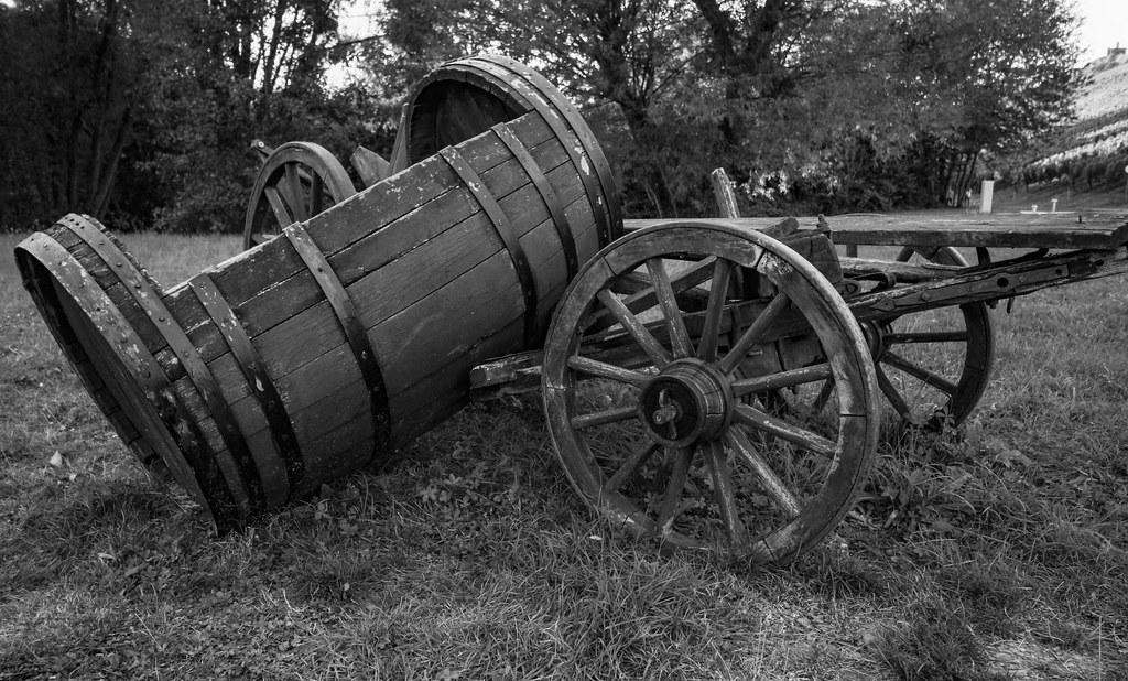 Alte Landwirtschaftliche Geräte als Deko Objekt