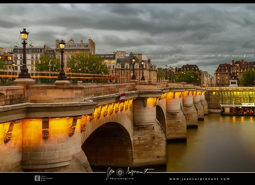 Cloudy pont neuf DRI | by Jean Surprenant photomagiste