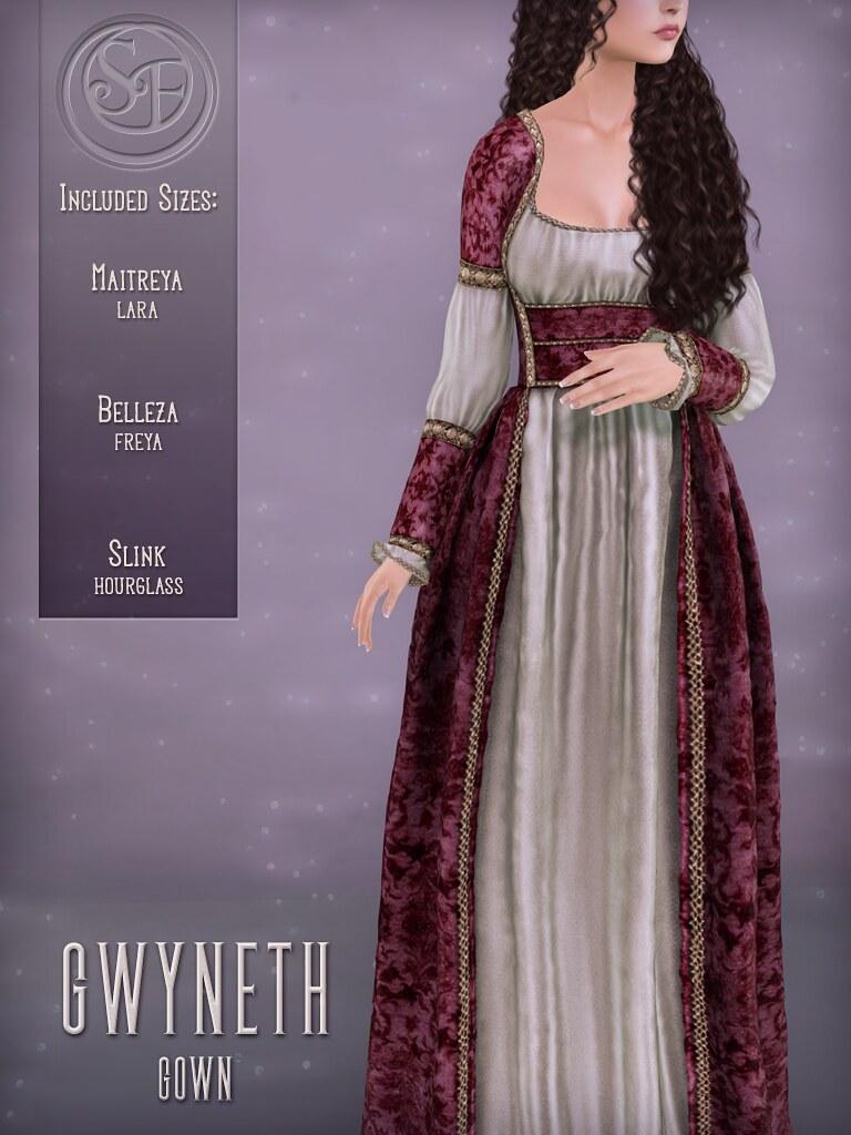 Senzafine . Gwyneth Gown Poster