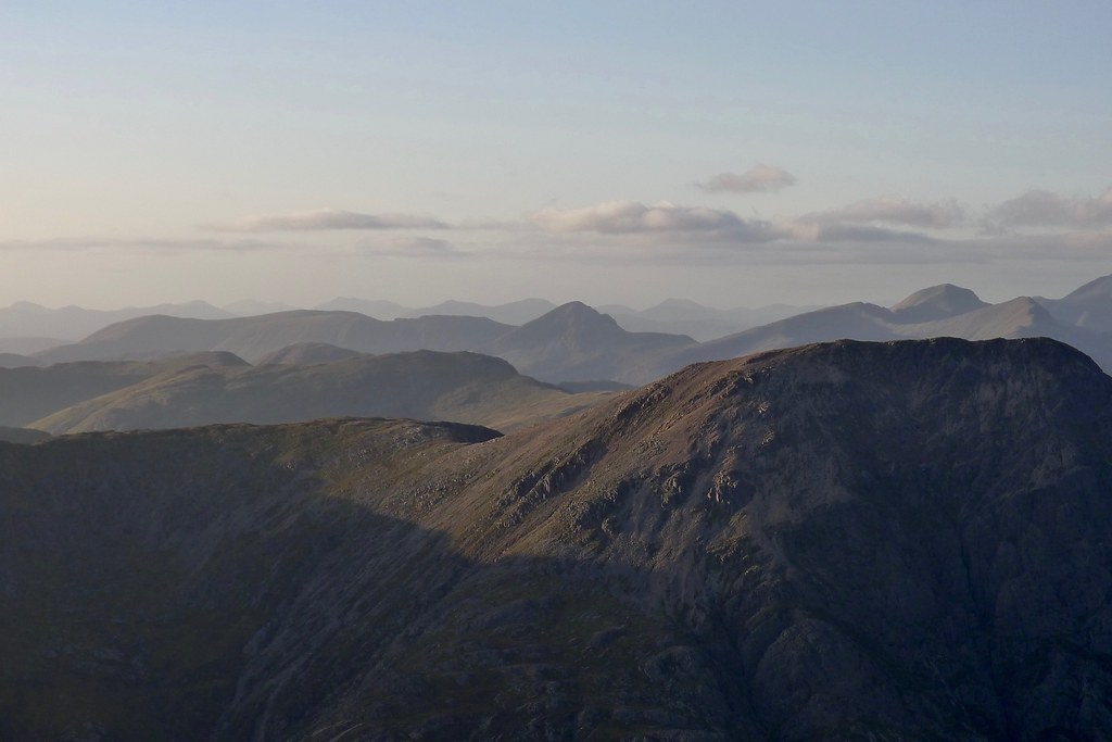 The Mamores from Creise