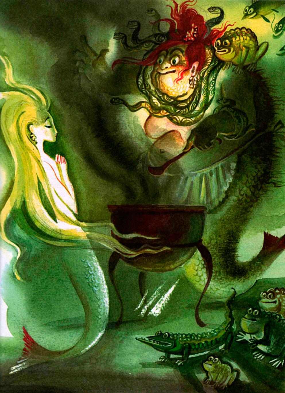 Nika Goltz - The Little Mermaid, Illustration 01