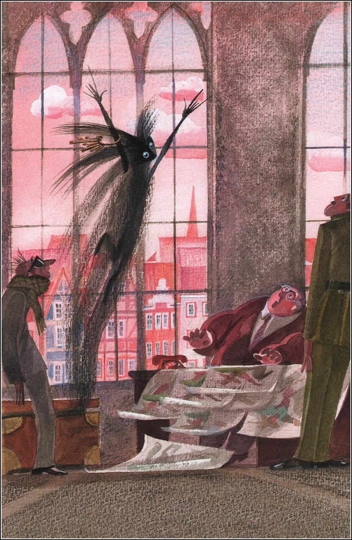 Nika Goltz - The Little Ghost, Illustration 03