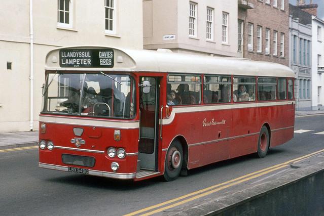 Davies Brothers ( Pencader ) Ltd . Pencader , South Wales . LBX549G . Carmarthen , South wales . Saturday morning 04th-September-1971 .