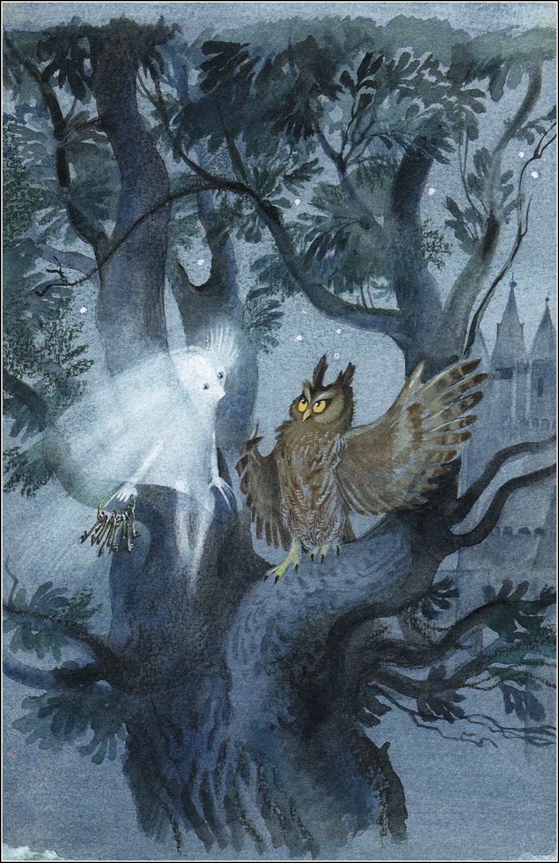 Nika Goltz - The Little Ghost, Illustration 01
