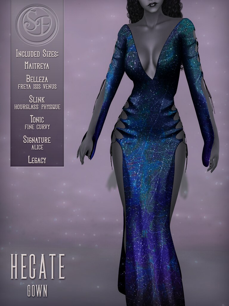 Senzafine . Hecate Gown Poster