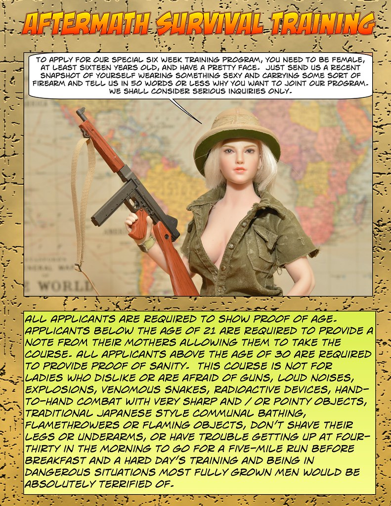 Attention All members! Kimono Troop offering Free Aftermath Survival Training.  50418437566_f586e7d8a6_b