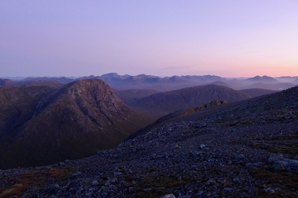 Towards Lochaber before dawn