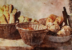 Baskets of Artisan Bread