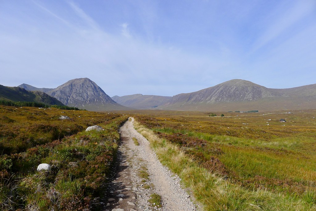 Glencoe from the West Highland Way