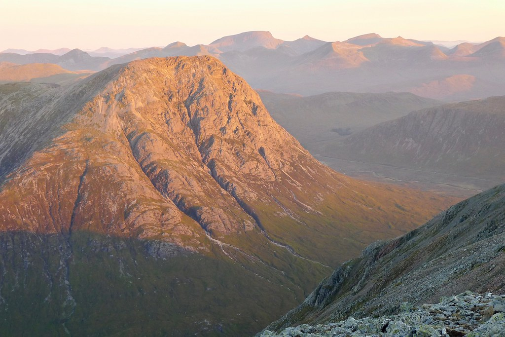 Sunrise on the Buchaille
