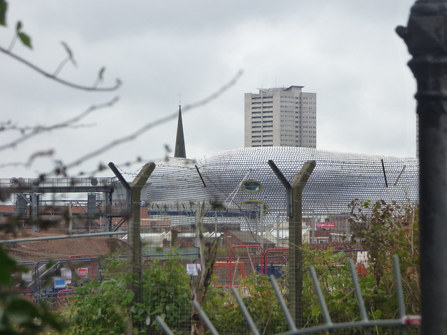 HS2 Curzon Street and Selfridges at the Bullring