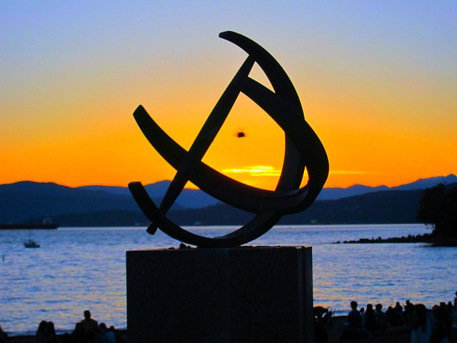 English bay Sundial ...Explore October 6