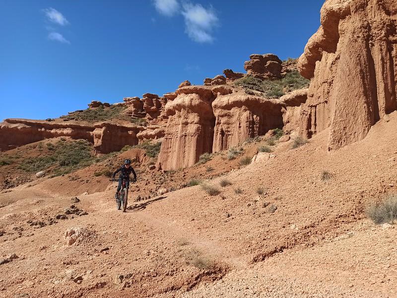 mountain bike en Spanish Utah
