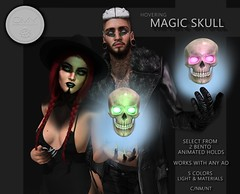 Magic Skull @ Darkness