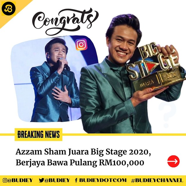 Azzam Sham Juara Big Stage 2020