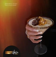 Pumpkin pie Martini by ChicChica @ Cosmopolitan