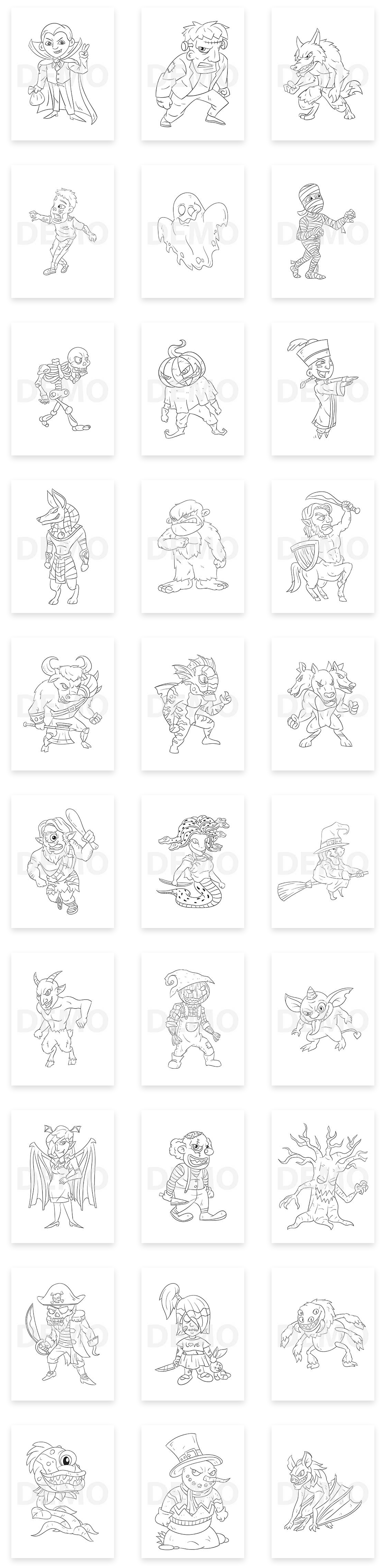 Happy-Halloween-Coloring-Pack-feature-2