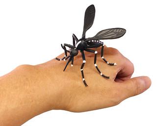 T-ARTS第二彈《危險生物大百科》新遭遇篇 轉蛋  巨大蚊子太驚悚啦!