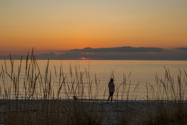 Golden Sunrise on Golden Beach