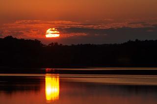 Sunset October 4, 2020