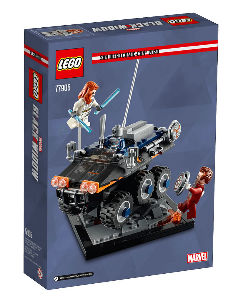 LEGO「尼布隆B型護航艦」、「模仿大師伏擊」兩款SDCC限定盒組曝光!