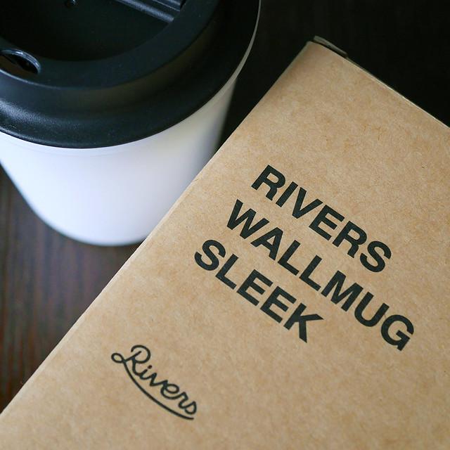 リバーズ ウォールマグ スリーク Rivers Wallmug Sleek かっこいい ドリンクウェア