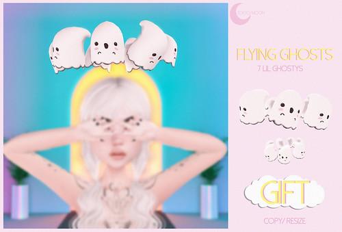 TK.// Flying Ghosts GIFT