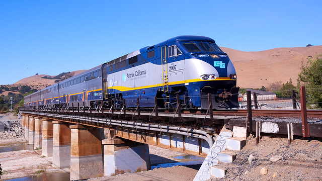 Amtrak California Capitol Corridor Westbound
