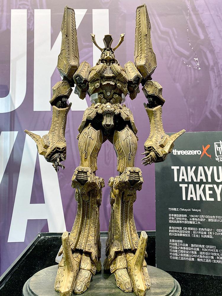 threezero X 竹谷隆之『傳說巨神伊甸王』原型公開  脫離原作的嶄新造型!