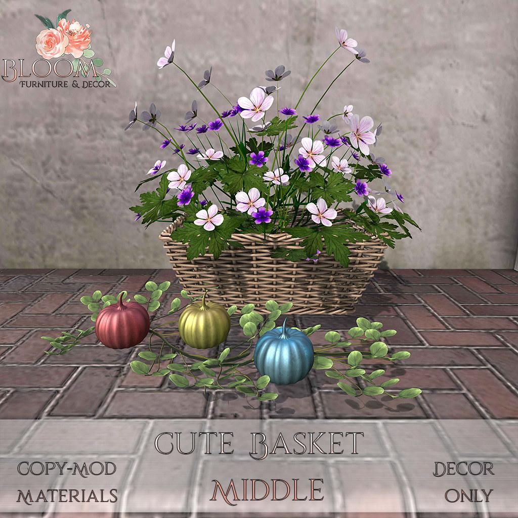 Bloom! – Cute Basket MiddleAD