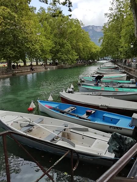 barques à Annecy