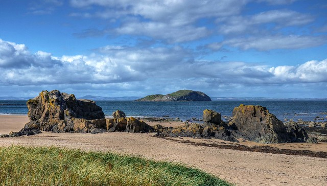 Firth of Forth at North Berwick, East Lothian