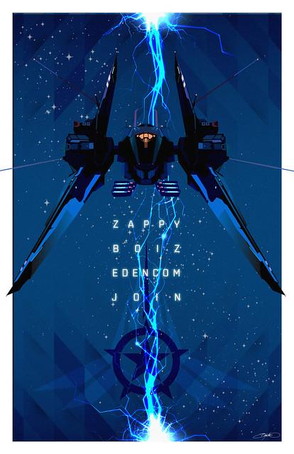 Zappy Boiz: Edencom Propaganda Poster